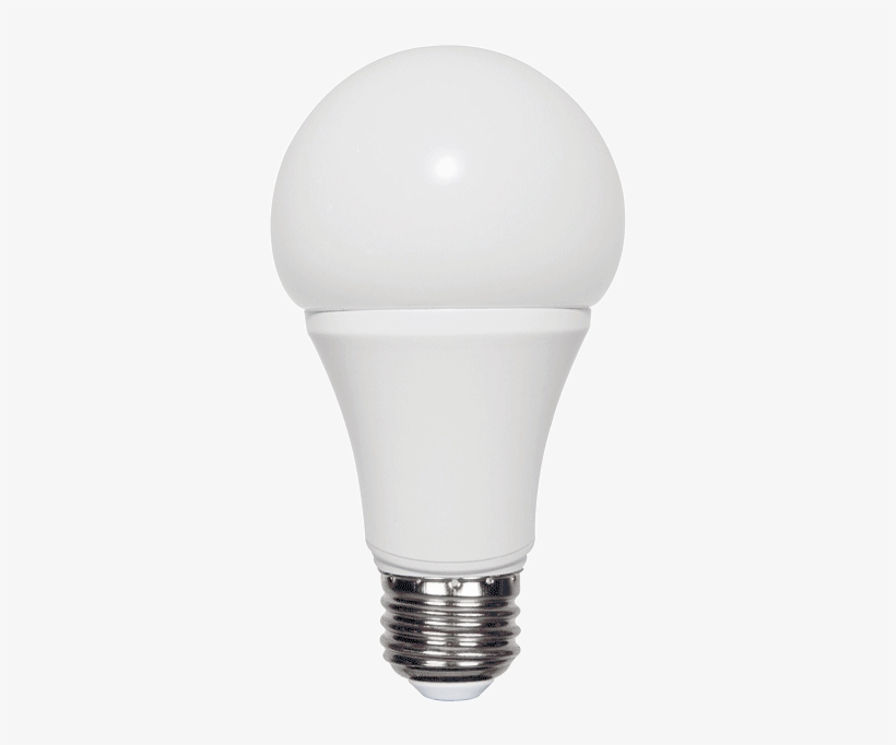 A19 Led Light Bulb Replacement For 60 Watt Incandescent - 7w Led Bulb, transparent png #4140618