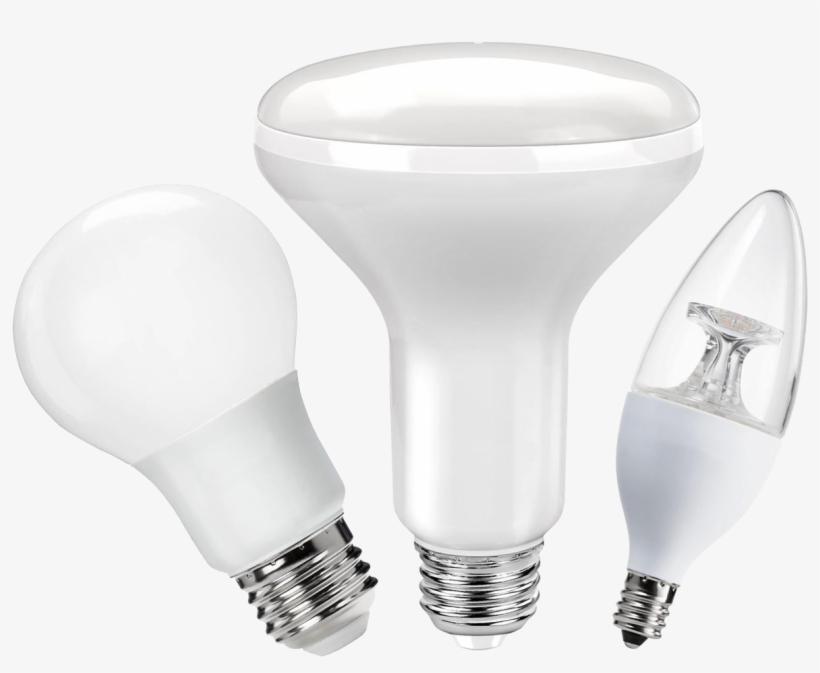 Led Lighting - Incandescent Light Bulb, transparent png #4141060