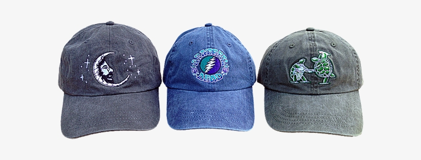 These Beautifully Embroidered Hats Have Exceptionally - Grateful Dead Hats, transparent png #4143690