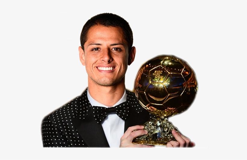 ¿chicharito Hernandez Ganador Del Balón De Oro - Chicharito Balon De Oro, transparent png #4152620