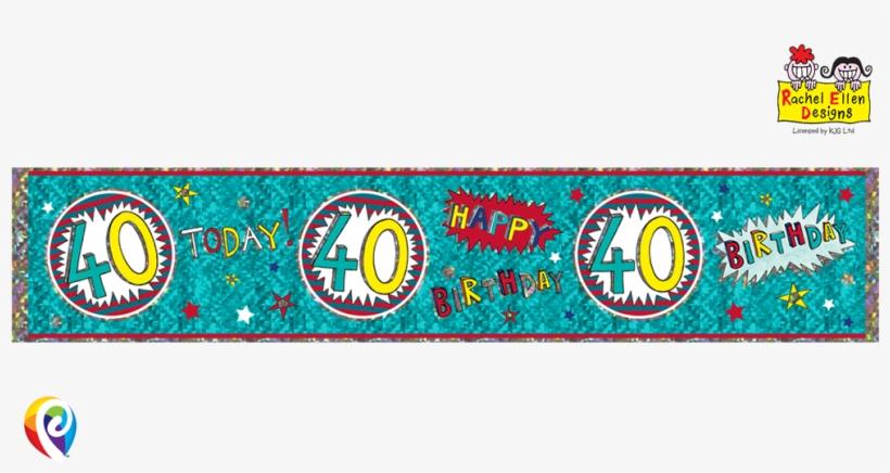 Rachel Ellen Extra Wide - Age 21/21st Birthday Wow Design Rachel Ellen Foil Banner, transparent png #4152920