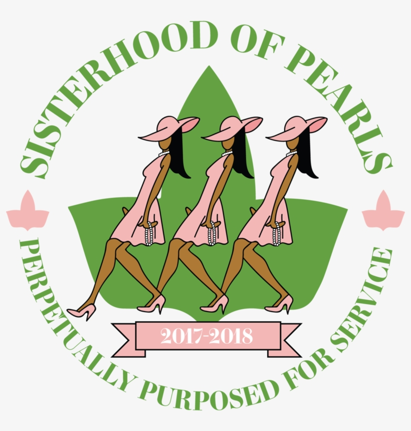 9db1186b5 Pearl Clipart Aka - Alpha Kappa Alpha Cartoon - Free Transparent PNG ...