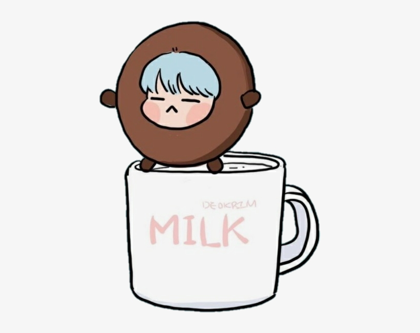 Army, Art, And Chibi Image - Bt21 Shooky And Suga - Free Transparent