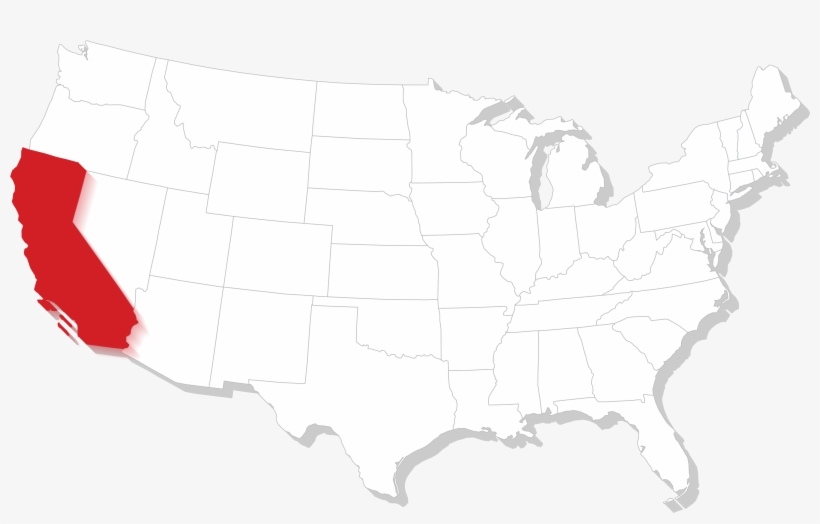 California Gun Laws - Map Of The United States Black ...