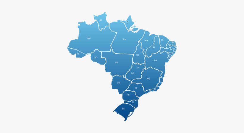 Mapa Do Brasil Png Grande - Brazilian Presidential Elections 2018, transparent png #4158633