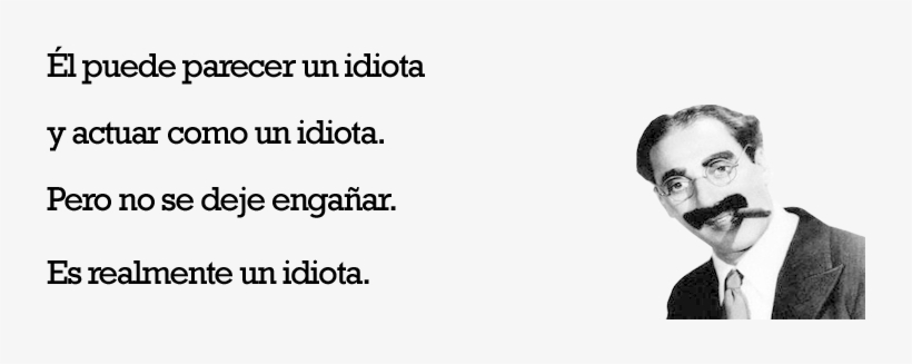 Frases De Groucho Marx Groucho Marx Free Transparent Png