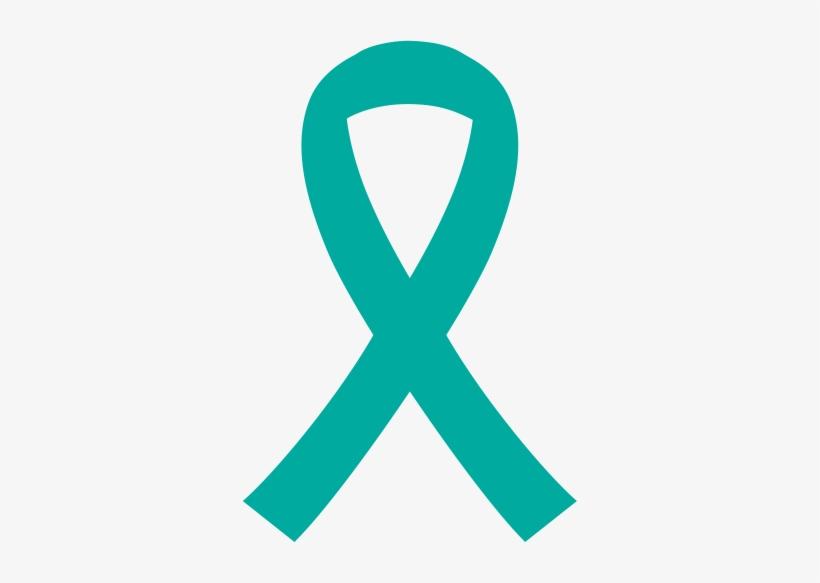 Source - Rainbowofhopecanada - Ca - Report - Ovarian - Awareness Ribbon, transparent png #4160735