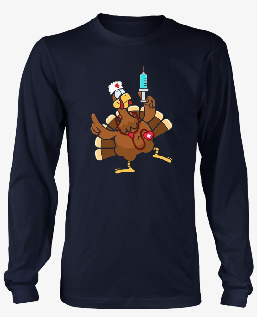 November Turkey Nurse T-shirt - Fishing Saved Me From Becoming Shirt, transparent png #4162836