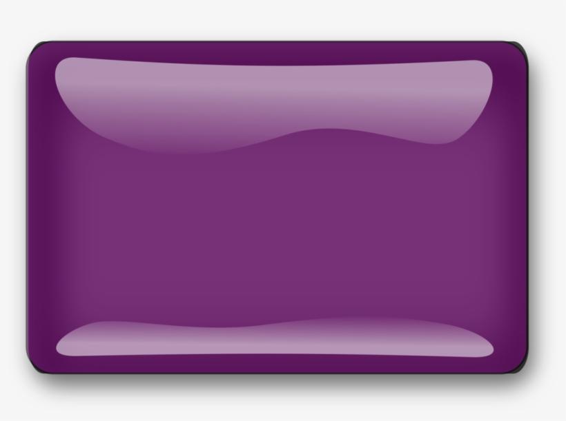 Square Rectangle Pin Badges Violet Blue - Purple Buttons For Website, transparent png #4165224