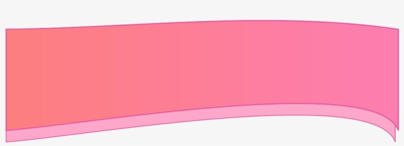 """Envie Um Email Clicando Em """"contato"""" No Menu Do Banner - Faixa Banner Rosa Png Fundo Transparente, transparent png #4166944"""