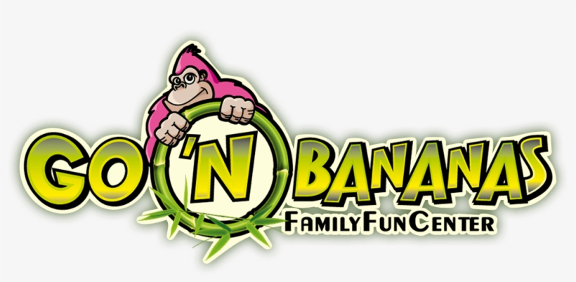 Go 'n Bananas Family Fun Center - Go N Bananas Logo, transparent png #4166948