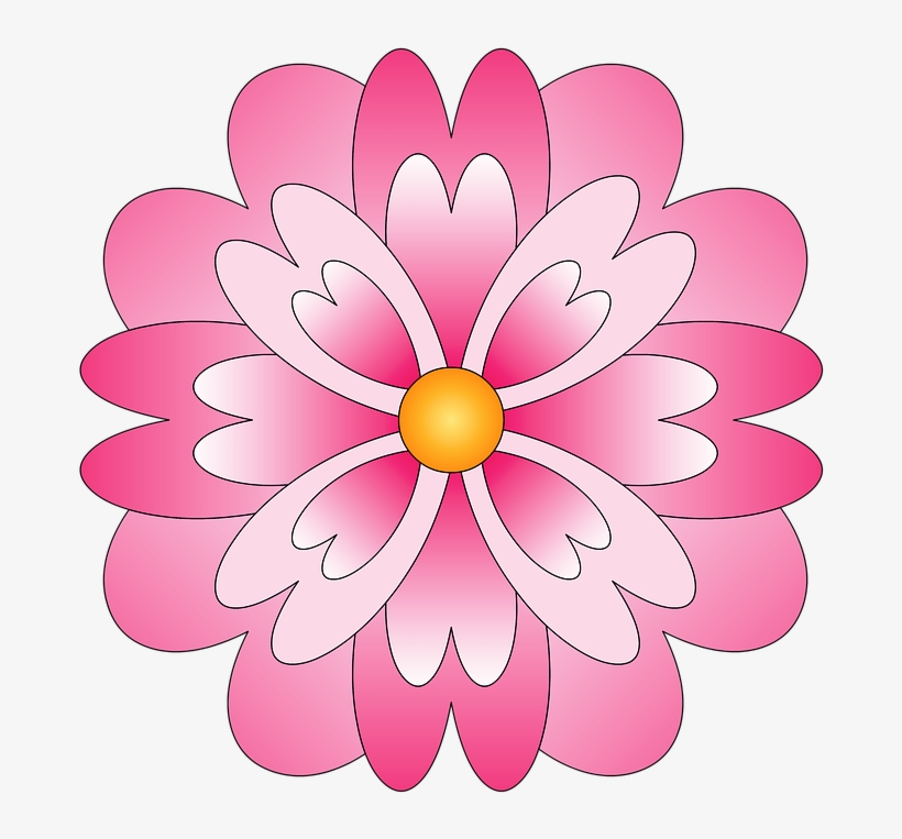 Dibujo Bonito De Flor Dibujos Bonitos De Flores Free