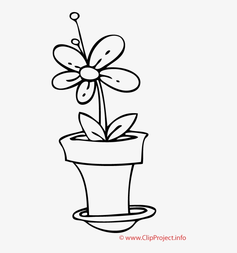 Flower Coloring Pages For Kids, transparent png #4170159