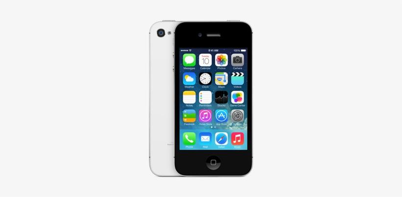 Iphone 4s - Apple Iphone 4s - 16 Gb - Black (unlocked) Smartphone, transparent png #4174495