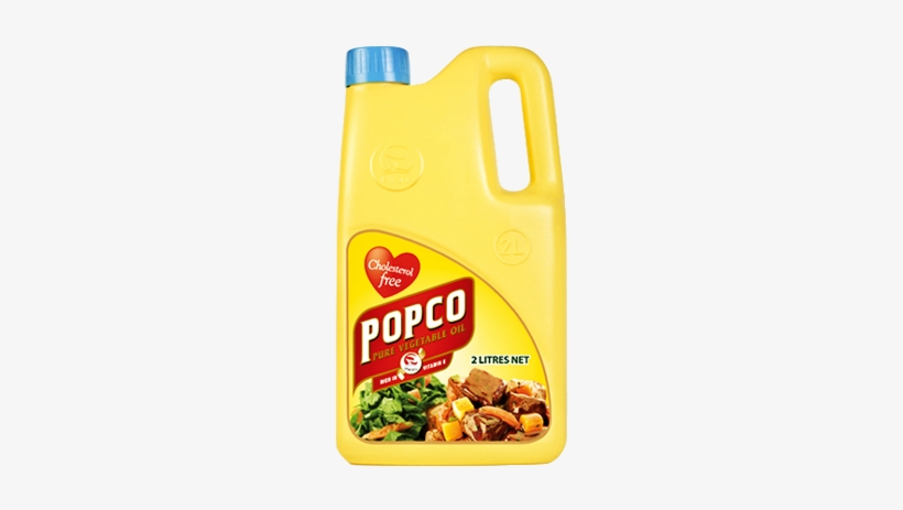 Popco Is A Highly Nutritious Vegetable Cooking Oil, - Vegetable Oil, transparent png #4175757