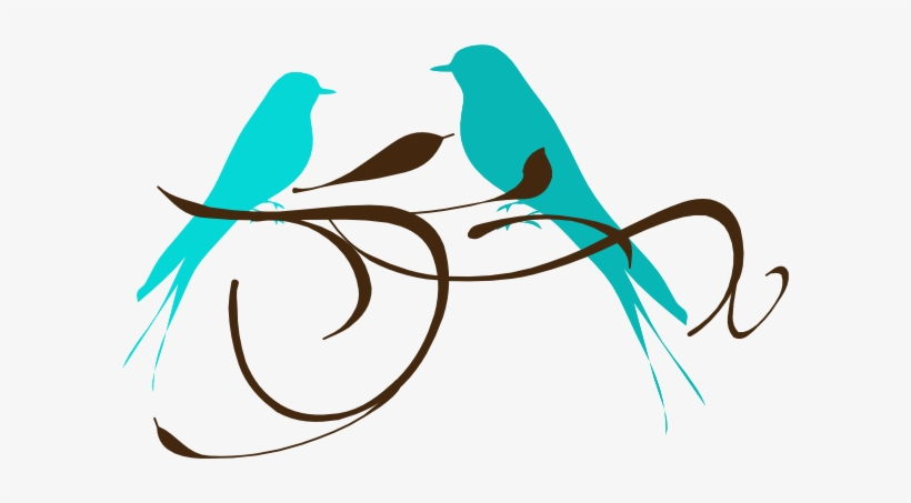 Teal Love Birds Clipart Clipart Panda Free Clipart - Teal Love Birds Clipart, transparent png #4179051