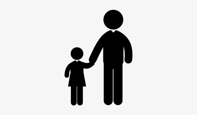 Man With Child Vector - Child Adult, transparent png #4181202