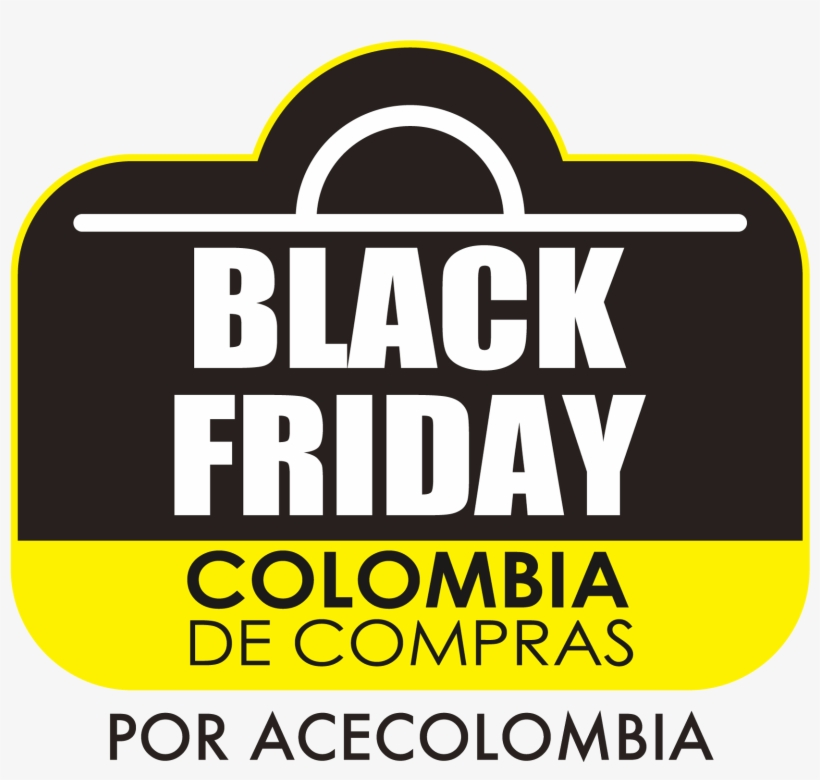 Logo B F Amarillo - Black Friday Sign, transparent png #4182808