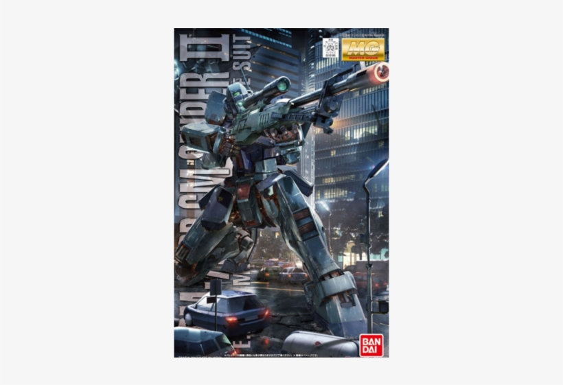 Bandai Hobby Gundam 0080 Gm Sniper Ii Mg 1/100 Model - 1/100 Mg Gm Sniper Ii - Model Kit, transparent png #4185595