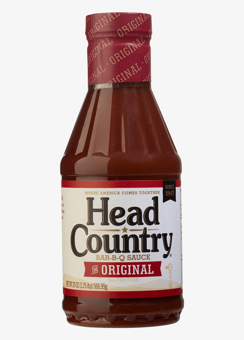 Head Country Original Bbq Sauce - Head Country Hickory Bbq Sauce, transparent png #4186358