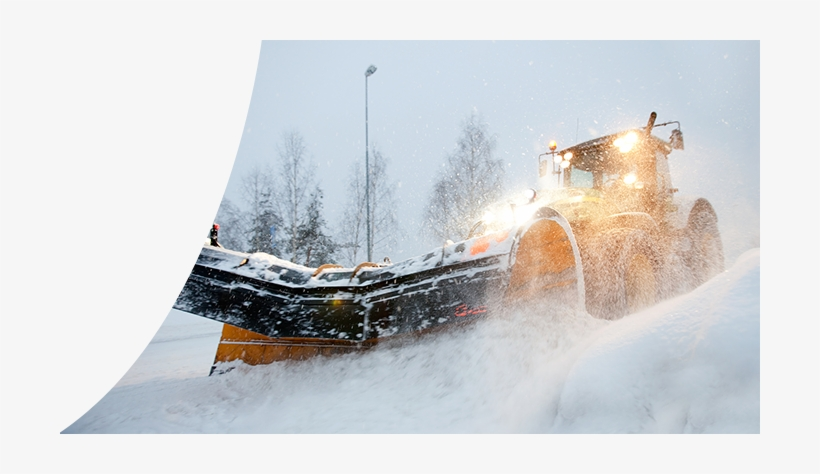 Our Hardworking And Reliable Machinery Can Clear A - Snow, transparent png #4186985