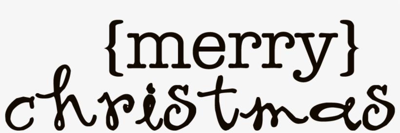 Merry Christmas Word Art Transparent - Paper, transparent png #4187969