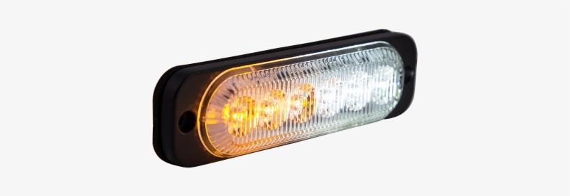 Ultra Thin Amber/white Surface Mount Led Strobe Lighthead - Lighting, transparent png #4189035