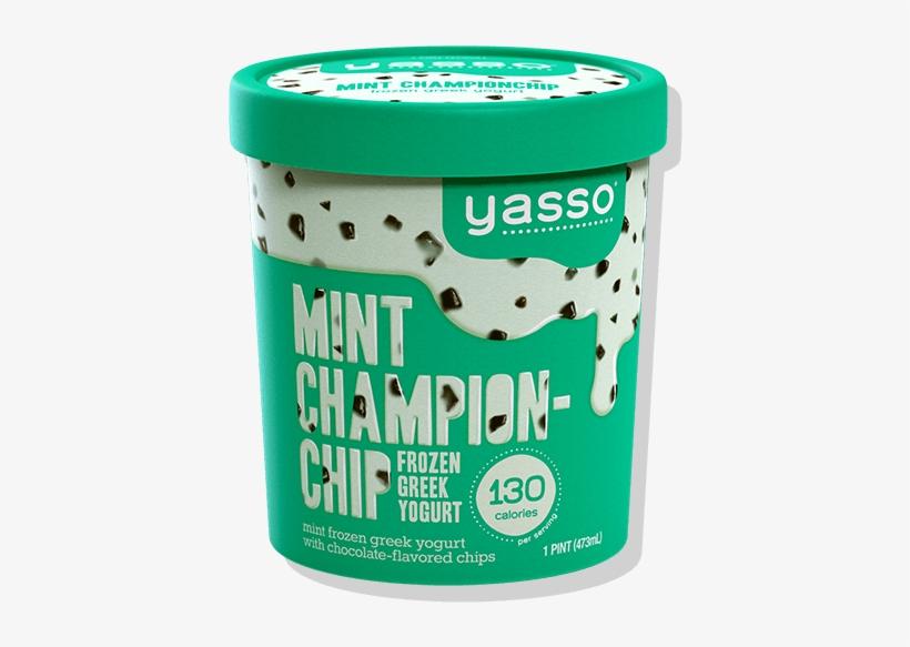 Yasso Mint Championchip Pint - Yasso Ice Cream Pints, transparent png #4190132