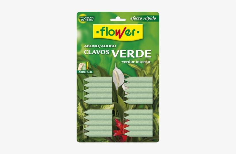 Abono Clavos Verde - Flower 10506 Flower Fertilizer Nails, transparent png #4190881