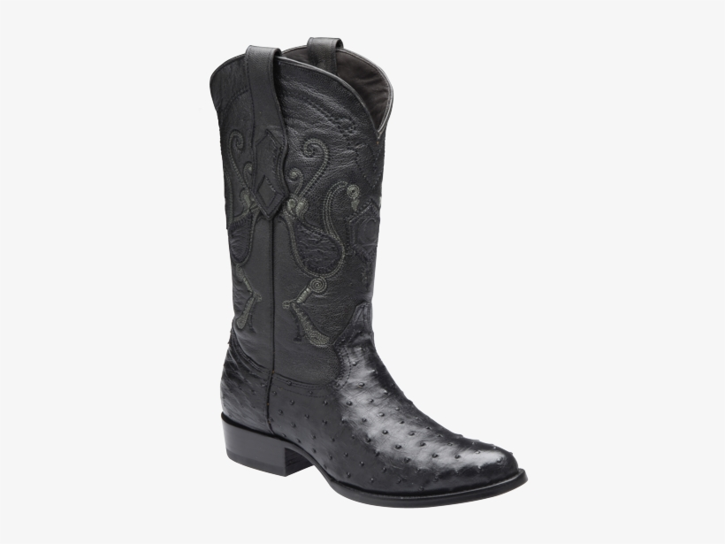 Anuncios - 2c41a1 Ostrich Cowboy Western Boot Made By Cuadra, transparent png #4192255