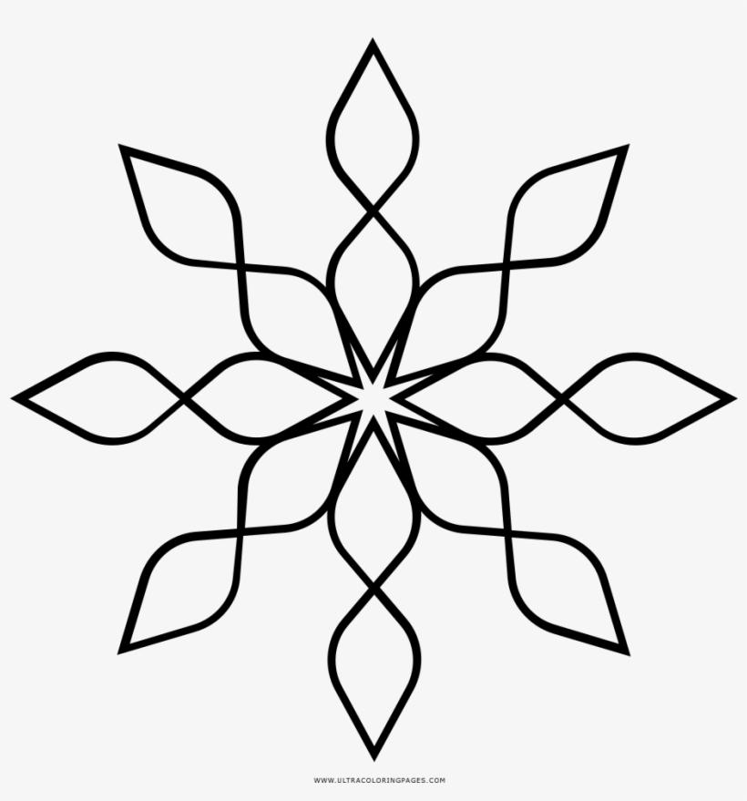 Floco De Neve Desenho Para Colorir Floco De Neve Para Desenhar