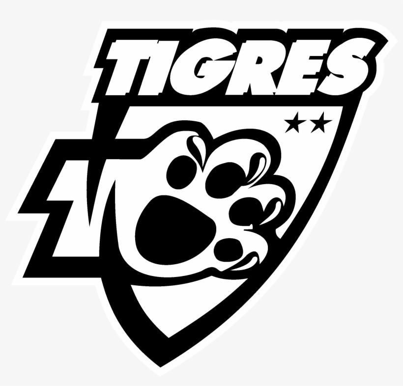 Tigres De La Uanl 2 Logo Black And White Tigres Uanl Png Free