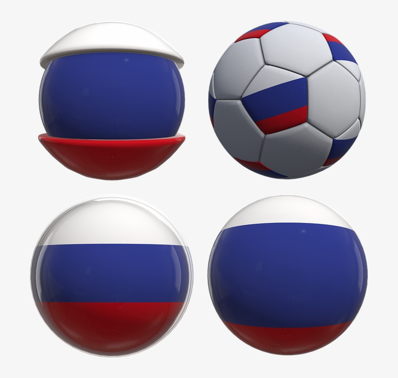 Russia, Russian, World Cup, 2018, World, Fifa, Flag - Png 2018 World Cup Flags, transparent png #4197170
