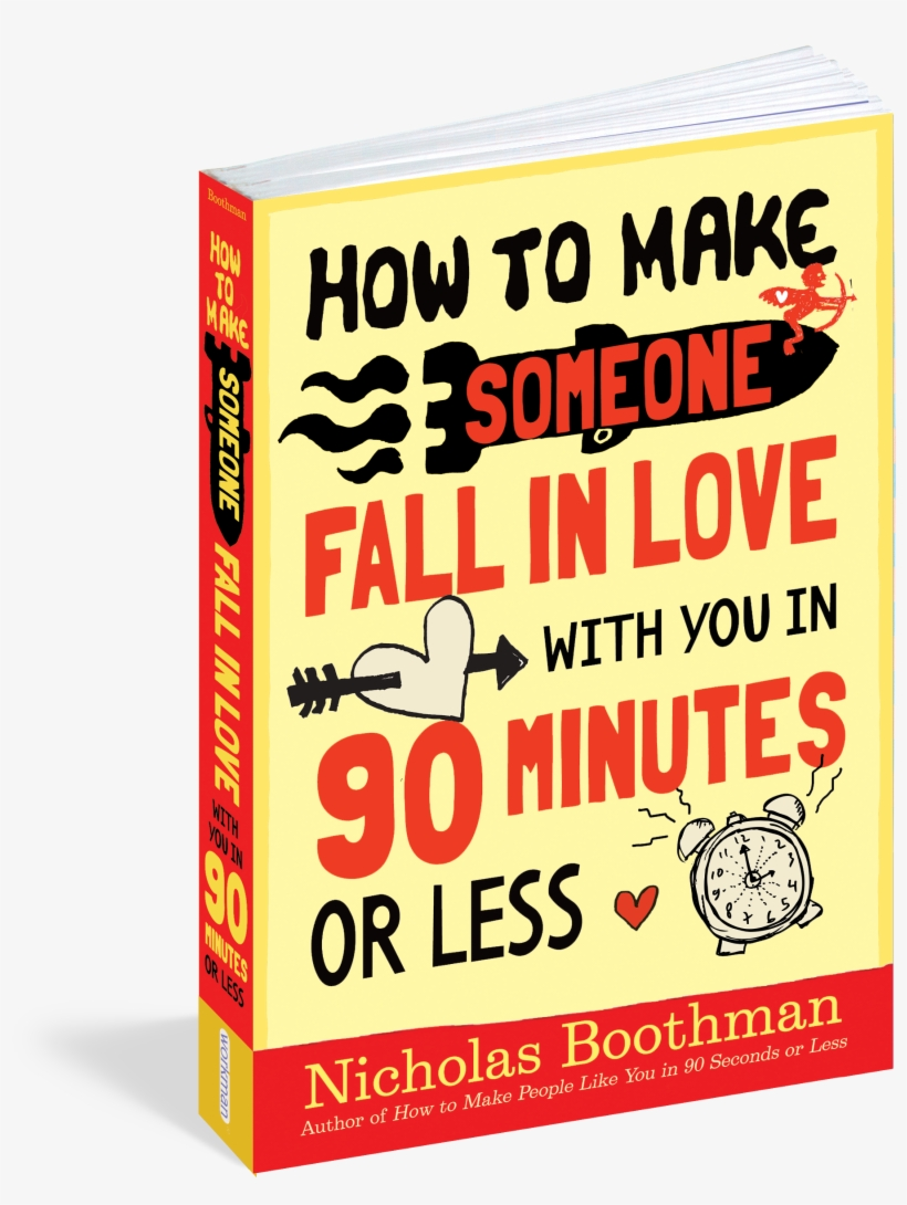 How To Make Someone Fall In Love With You In 90 Minutes - Make Someone Fall In Love, transparent png #4197805