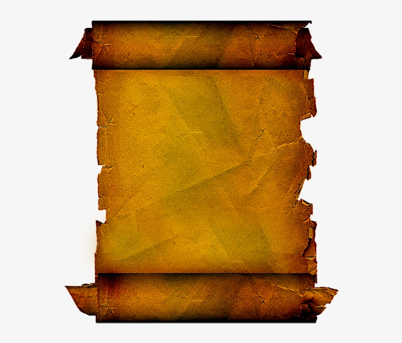 Pergaminhos Em Imagens Png - Molduras De Pergaminho Para Cartao, transparent png #4199119