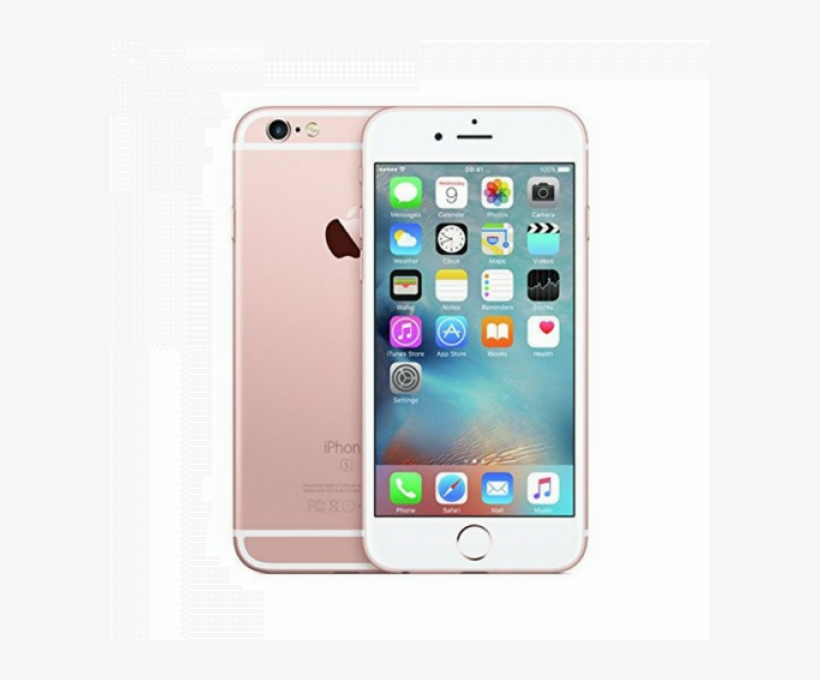 Apple Iphone 6s 64gb Rose Gold Factory Unlocked Smartphone - Apple Iphone 6s - 64 Gb - Silver - Unlocked, transparent png #4199541