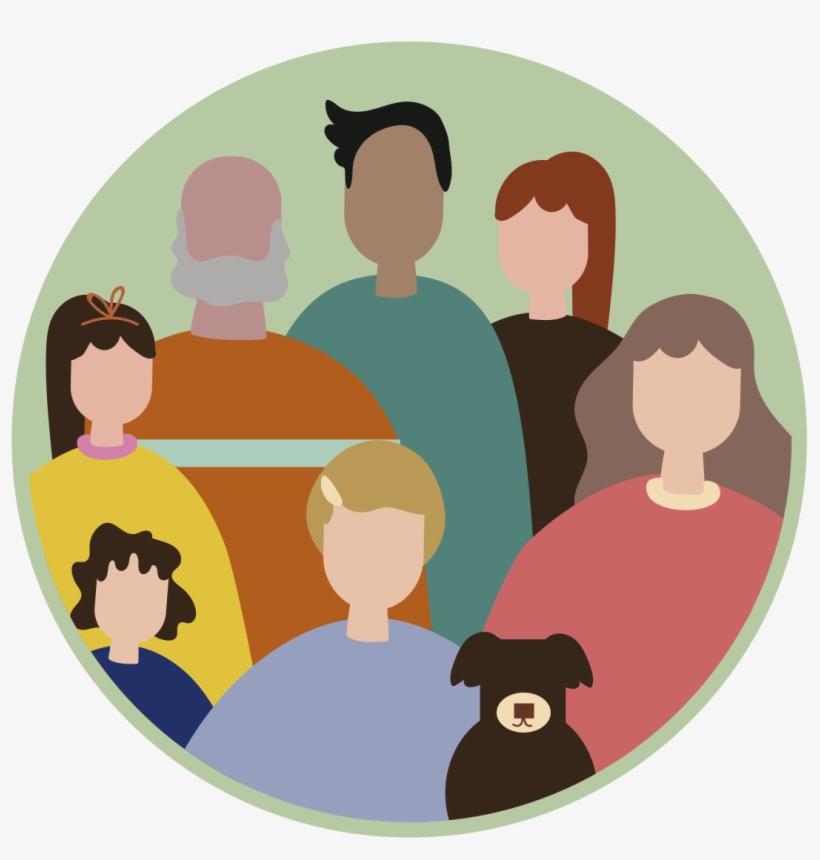 Para Concretar Este Nuevo Camino, Es Necesario Concebir - Participacion De La Familia En El Desarrollo Social, transparent png #4199969