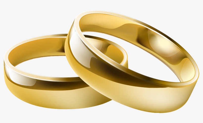 Wedding Transparent Rings Clipar Picture Wedding Rings Vector Png