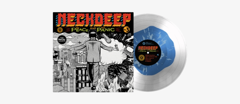 """The Peace And The Panic 12"""" Vinyl - Neck Deep The Peace And The Panic Vinyl, transparent png #422197"""