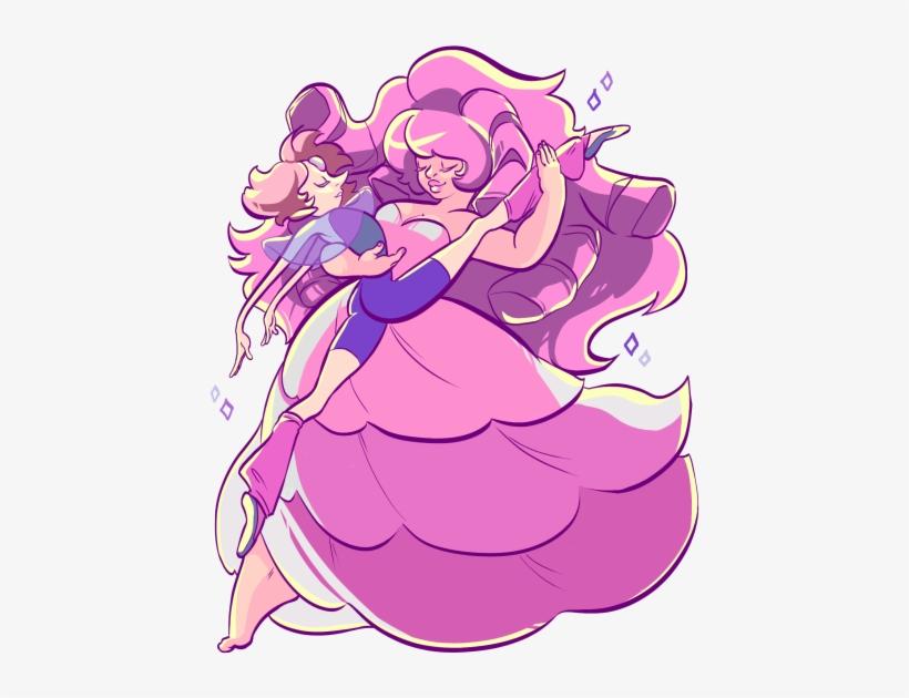 Fanart Rose Quartz Pearl We Need To Talk Steven Universe Rose And