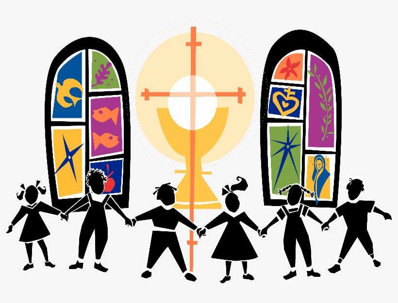 Church Kids Clipart - El Laico En El Mundo, transparent png #423131