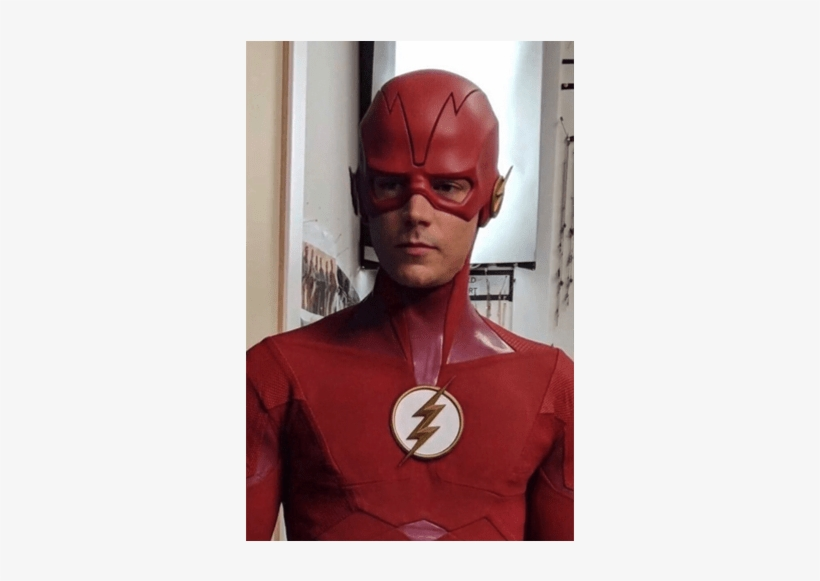 The Leaked Picture Of The Flash Season Five Costume - Flash Season 5 Suit Leak, transparent png #427415