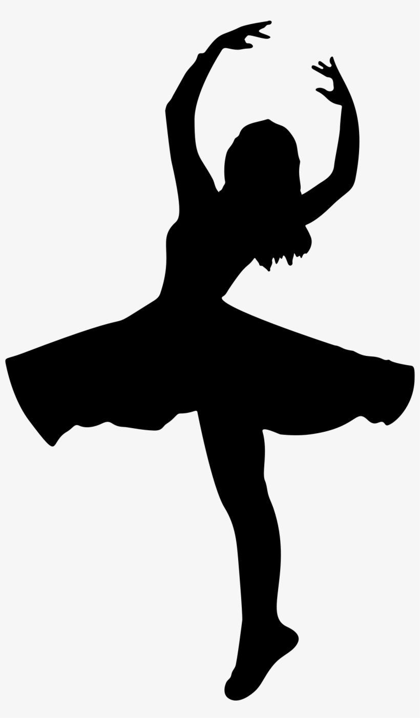 Dancer Silhouette, transparent png #427755