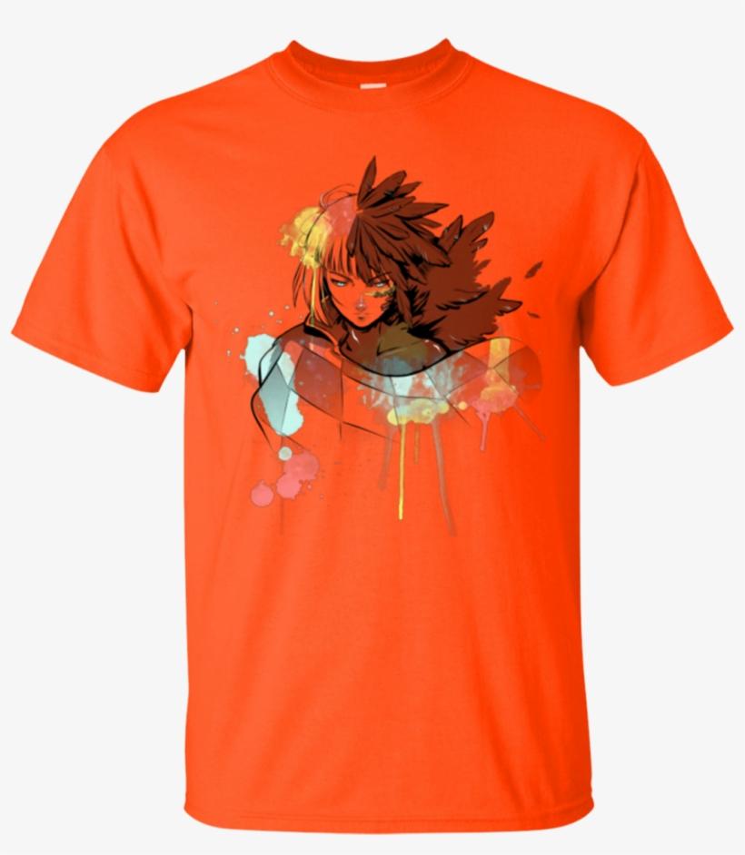 Howl Watercolor Ghibli T-shirt - United States Veteran T-shirt - Red - Small, transparent png #428286