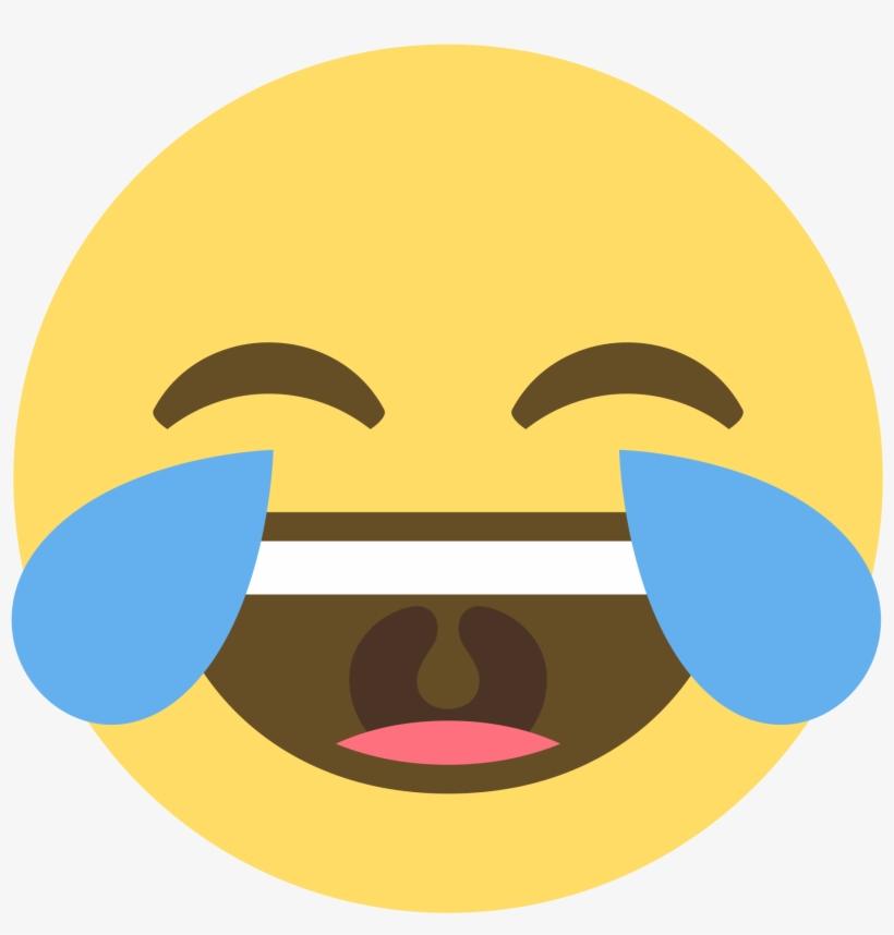 Image Laugh Emoji Png For Free Download - Emoji Sticker Activity Book, The Ultimate