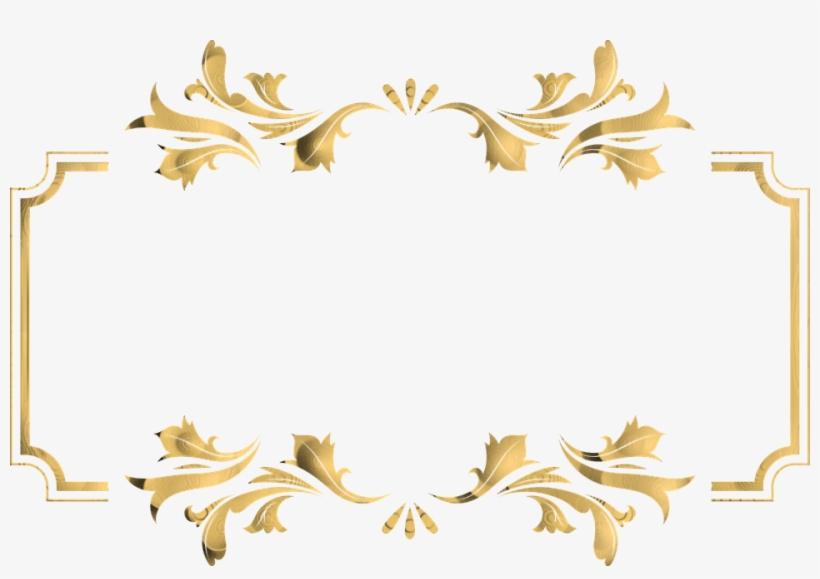 Frame,border - Transparent Borders Png Gold, transparent png #429979