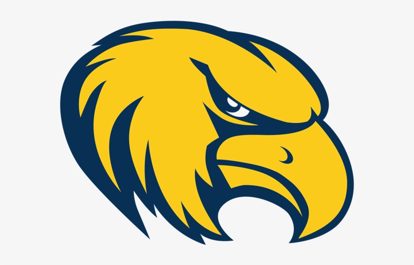 Golden Eagle Clipart Eagle Mascot - Rock Valley College Basketball Logo, transparent png #4200967