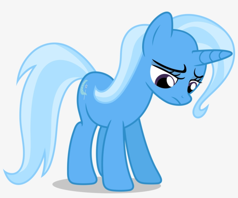But Alas, Trixie Does Not Have A Million Bits Even - My Little Pony Trixie Sad, transparent png #4202104