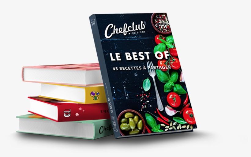 Le Livre Chefclub 45 Recettes Best Of Livre Recette Chef