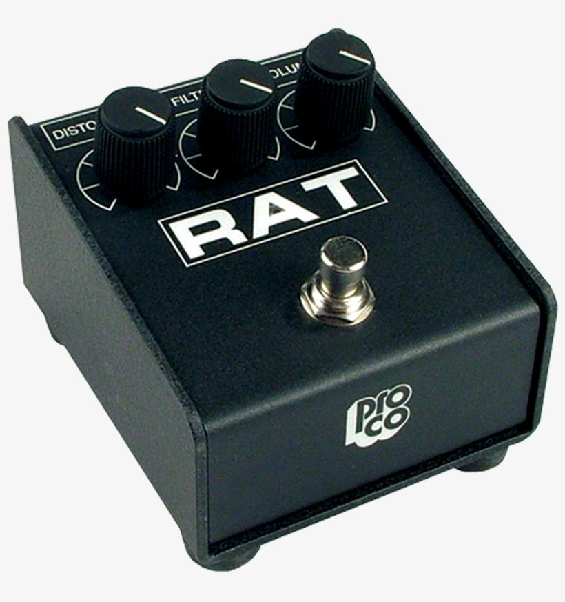 Proco, Rat-2, Distortion Image - Pro Co Sound Inc Pro Co Rat 2 Guitar Distortion Pedal, transparent png #4206240